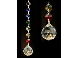 FENG SHUI kristallripats tšakraketiga - Ühtsus - VIIMASED